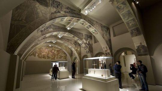 Frescos de Sixena al MNAC
